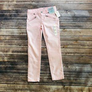 Girls brand new light pink jeans! Size 8